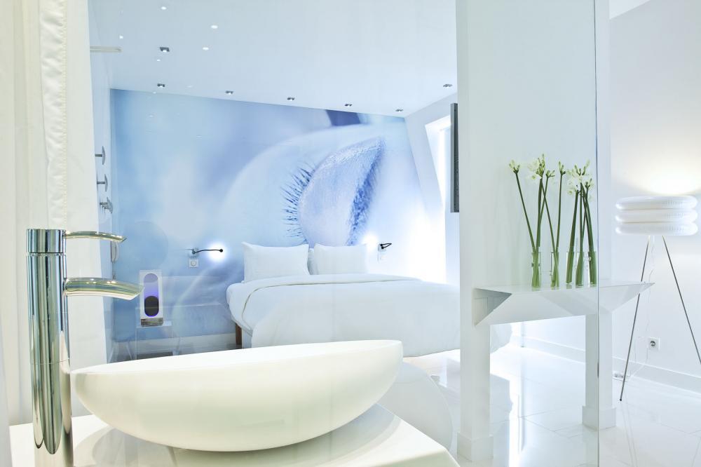 Mosa que scappa d coration contemporaine h tel espace for Hotel blc paris
